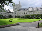 The Quad of University College Cork, Cork City, Ireland. A beautiful and historic University.