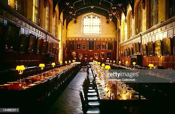 University Dining Room Oxford England United Kingdom