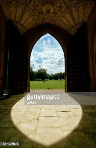 University Entrance in Cambridge