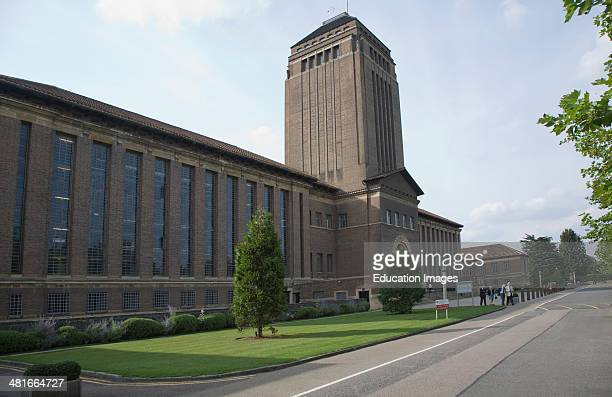 University library building Cambridge England designed by architect Giles Gilbert Scott 1930s