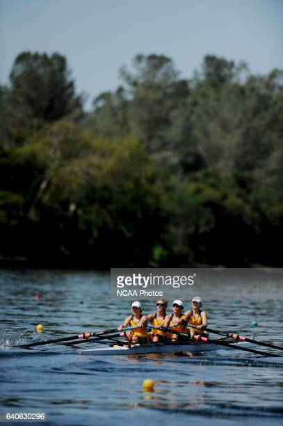 University of California at Berkeley during the Fours Grand Final during the 2011 NCAA Division I Women's Rowing Championship hosted by Washington...