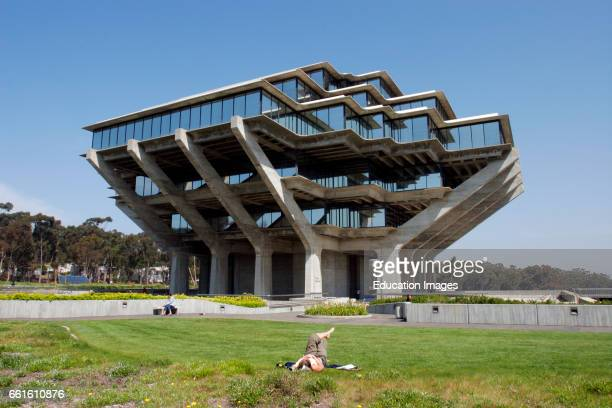 University Of California San Diego Geisel Library La Jolla California