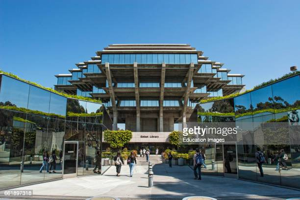 University Of California San Diego Geisel Library La Jolla