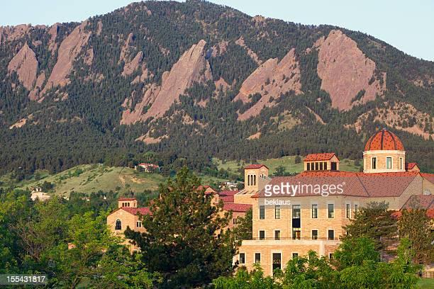 University of Colorado and Flatirons