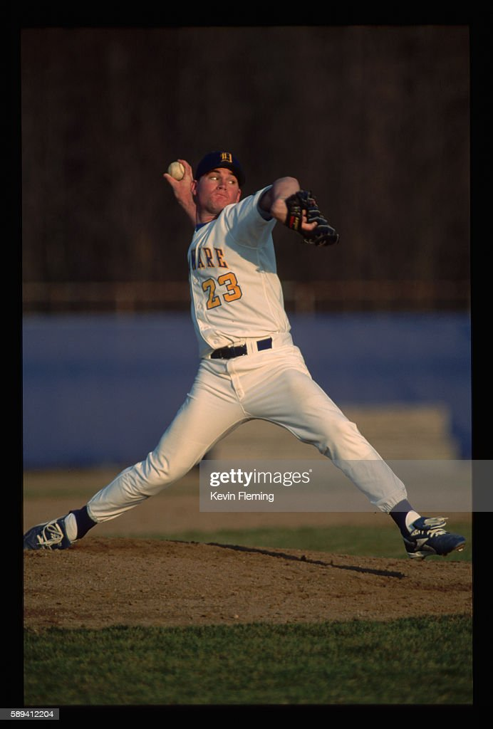 University of Delaware Pitcher on the Mound
