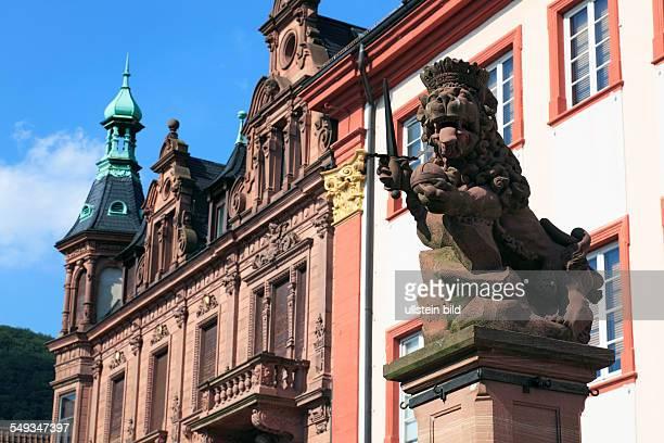 University of Heidelberg Ruprecht Karls University Old University Domus Wilhelmina Lion well electoral lion
