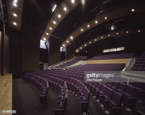 University Of Hertfordshire Hatfield United Kingdom Architect Rmjm University Of Hertfordshire Oblique View Of Auditorium