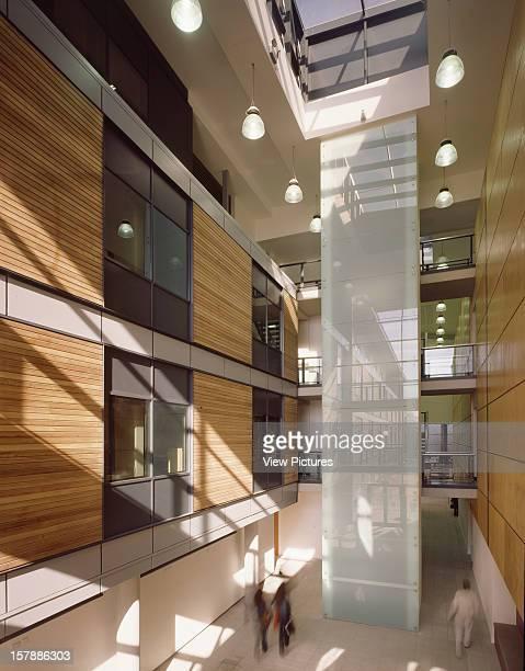 University Of Hertfordshire Hatfield United Kingdom Architect Rmjm Portrait View Corridor And