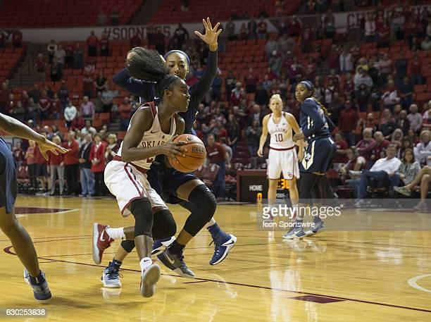 University of Oklahoma player Tona Edwards drives to the basket during the Oral Roberts University vs University of Oklahoma NCAA Women's Basketball...