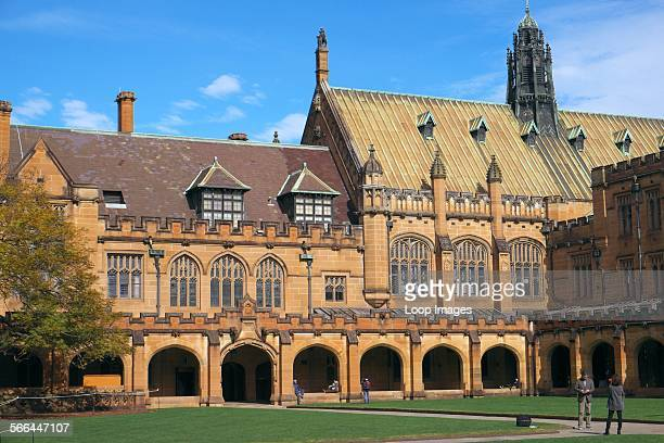University of Sydney Campus and Quadrangle in Sydney