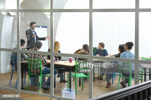 University students at lecture