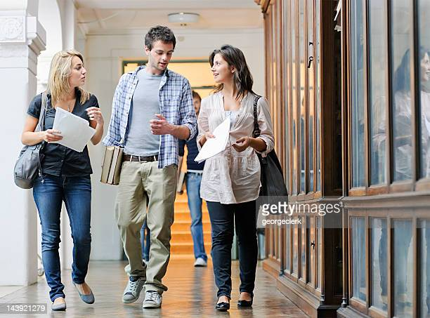 University Students Between Lectures