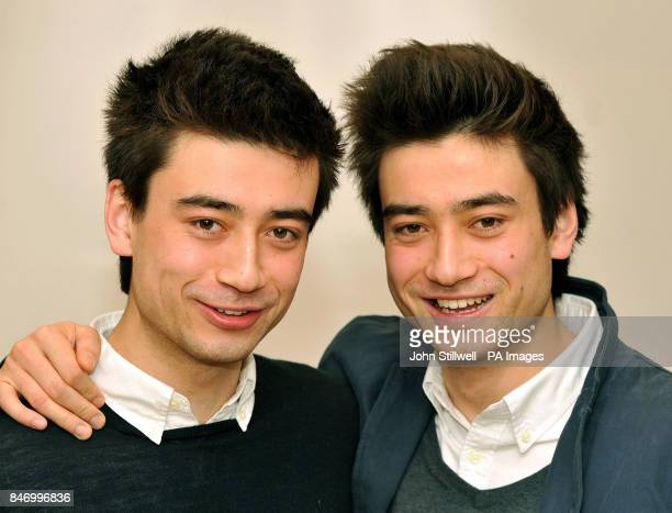 University students Dan and Michael Smith twins aged 20 who dramatically lost their sight in a matter of weeks to Leber's optic Neuropathy which is...