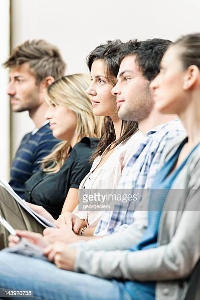 Studenti in una lezione