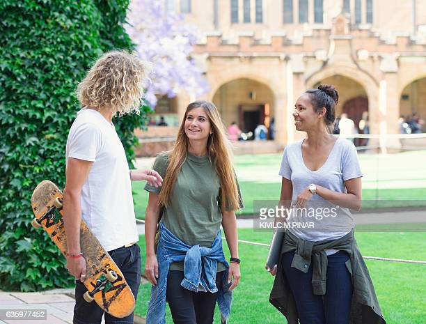 University students in Sydney