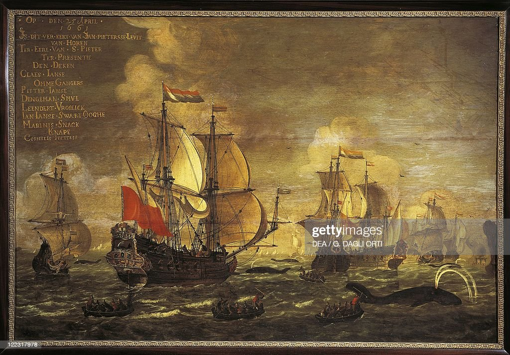 Unknown Dutch painter The Whaling
