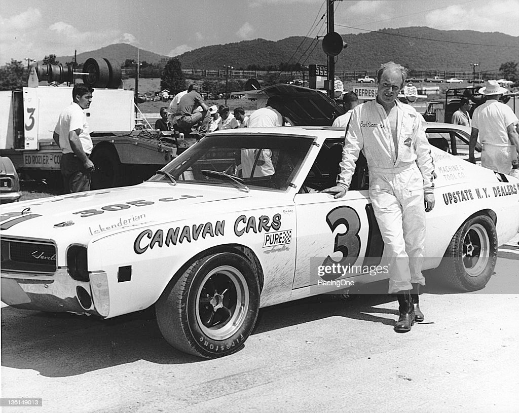 Earle Canavan of Ft. Johnson, NY, began his NASCAR career running this AMC Javelin in the Grand Touring/Grand American Series from 1968 through 1970. Canavan raced sparingly later on the NASCAR Cup circuit, making just 68 starts between 1969 and 1986 with no finishes in the top 10.