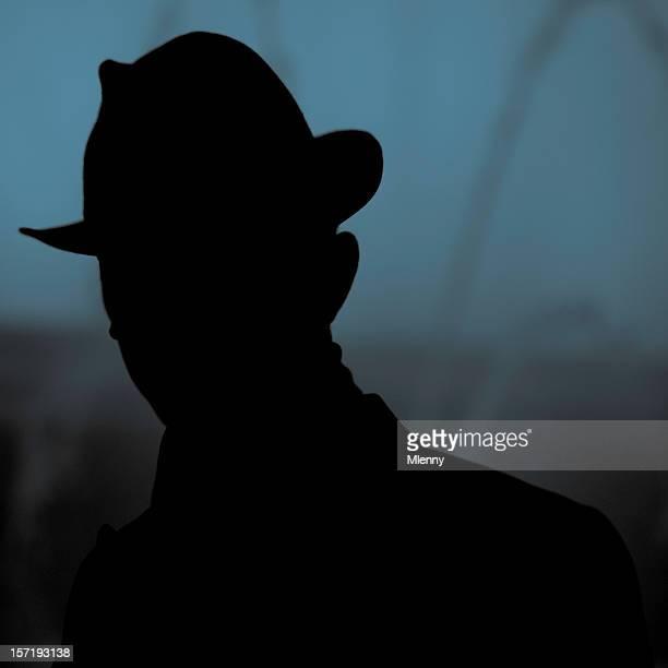 Unbekannten, Inkognito silhouette