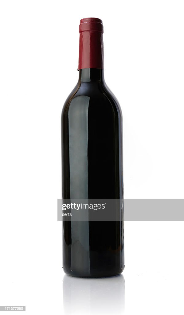 unlabeled bottle of red wine stock photo bottle red wine