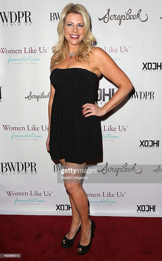 Unlikely Hereos CEO Erica Greve attends a Pre-LAFW benefit in support of the Women Like Us Foundation at Lexington Social House on March 8, 2013 in Hollywood, California.