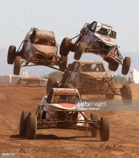 LOORRS unlimited buggys compete in round 4 of the Lucas Oil Off Road Racing Series on May 3 2009 at the Speedworld Off Road Park in Wittmann Arizona