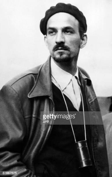 Unlocated picture dated in the 1960s shows legendary Swedish filmmaker Ingmar Bergman