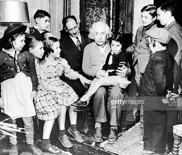 Unlocated picture of Germanborn SwissUS physicist Albert Einstein author of theory of relativity awarded the Nobel Prize for Physics in 1921 on his...