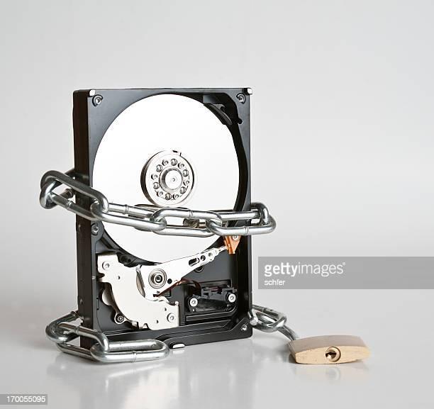Unlock hard drive