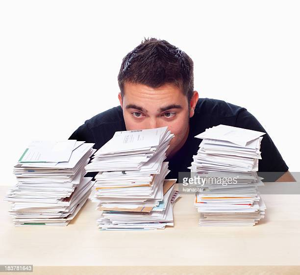 Unpaid Bills and Paperwork Overload