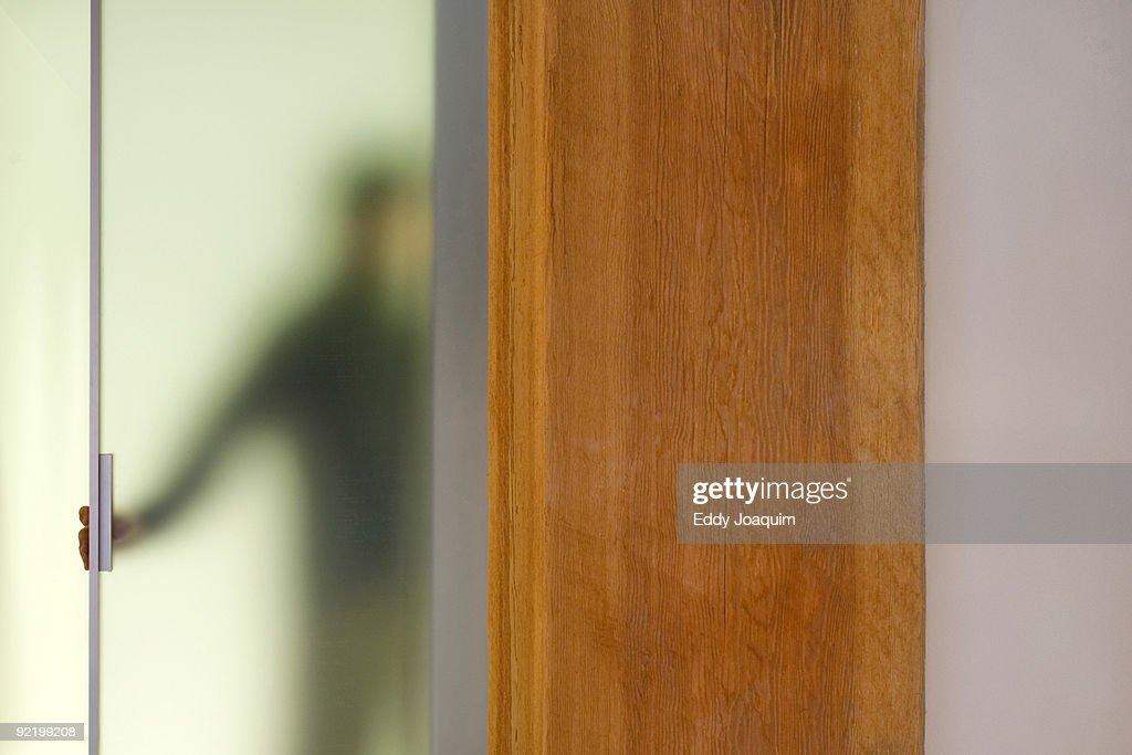Unrecognizable person : Stock Photo