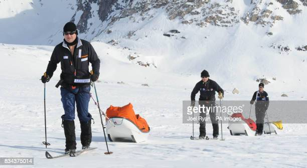 Unreleased picture date is Friday April 18 2008 Left to right City worker Will Gow shipping lawyer Henry Adams and Team Leader Henry Worsley 47...