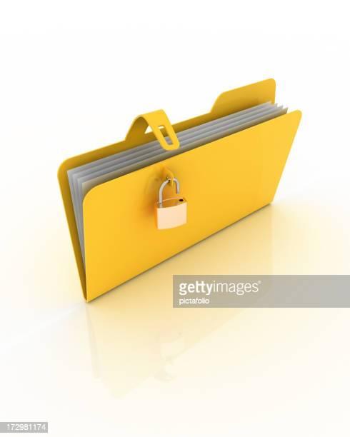 unsecured folder