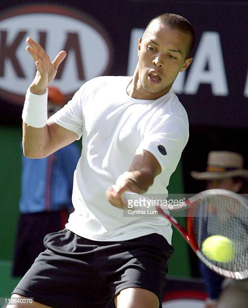 Unseeded Hicham Arazi caused a shock upset as he defeated Mark Philippoussis in straight sets 62 62 64 in the fourth round of the Australian Open