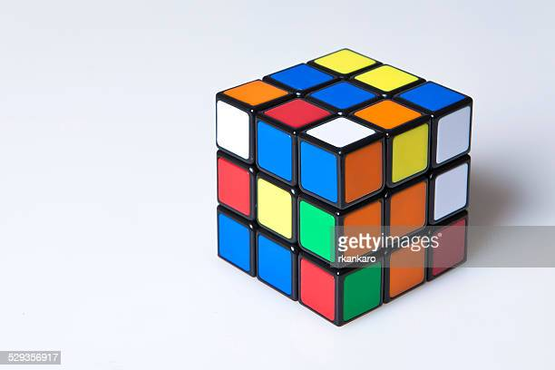 unsolved Rubik's cube