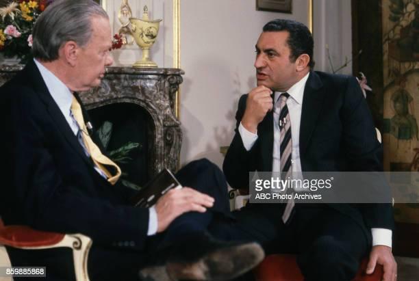 David Brinkley Hosni Mubarak interview on 'This Week'