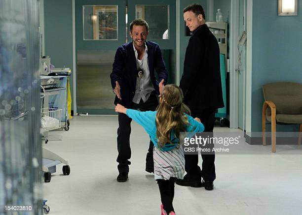 'Unspoken' ' Det Danny Messer is reunited with his daughter Lucy as The CSIs including Det Mac Taylor race to catch a shooter when Lindsay is injured...