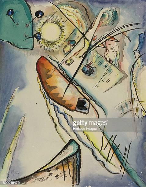 Untitled 1916 Private Collection Artist Kandinsky Wassily Vasilyevich
