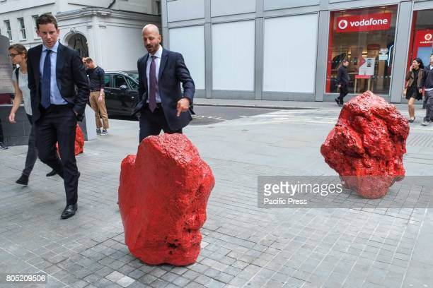 'Untitled x3' by Bosco Sodi 201215 Sculpture in the City of London returns for the seventh year to the Square Mile with contemporary works from...