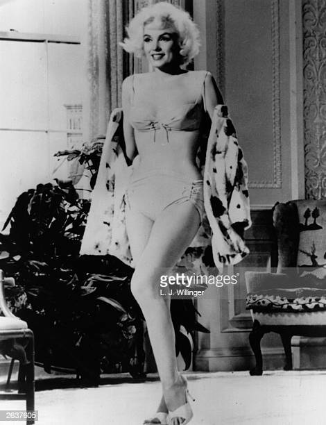 Unused footage of American film star Marilyn Monroe shows off her curves in her last film 'Something's Gotta Give' directed by Michael Gordon She was...