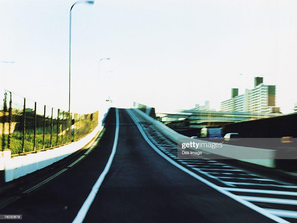 Unused freeway : Stock Photo