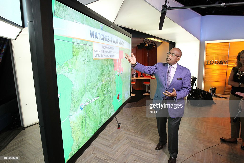 TODAY -- 'Unveiling of Studio 1A' -- Pictured: Al Roker --