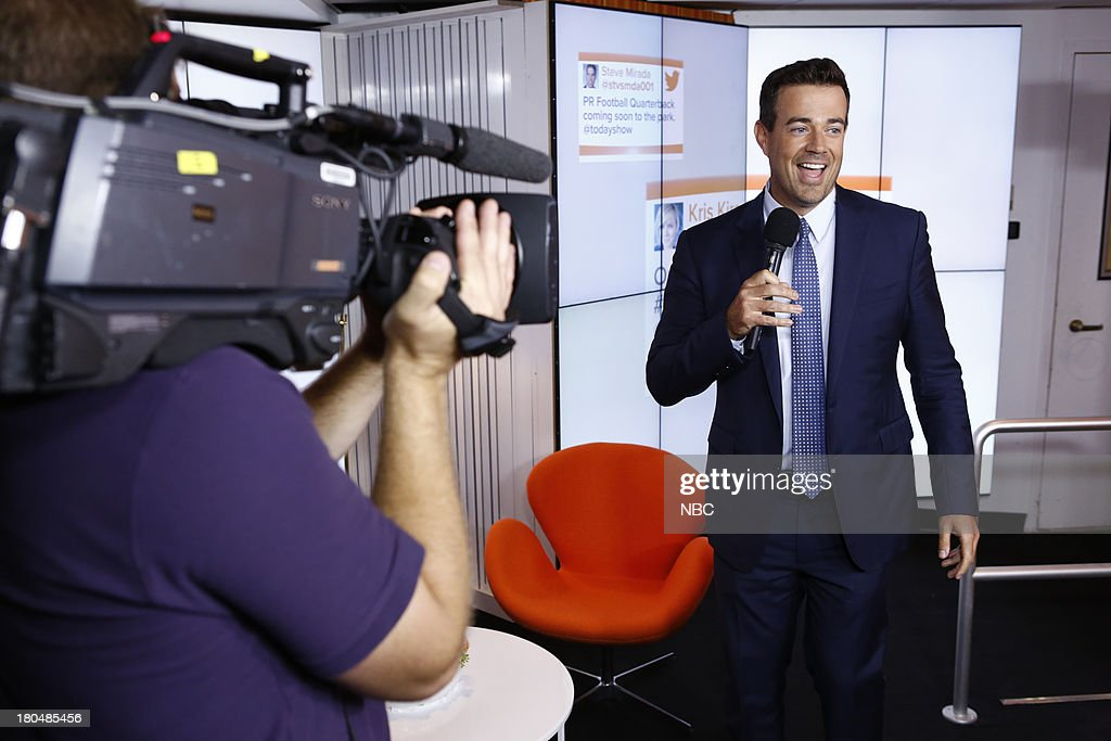 TODAY -- 'Unveiling of Studio 1A' -- Pictured: Carson Daly --