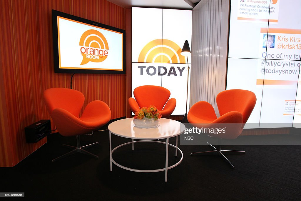 TODAY -- 'Unveiling of Studio 1A' -- Pictured: Studio 1A --