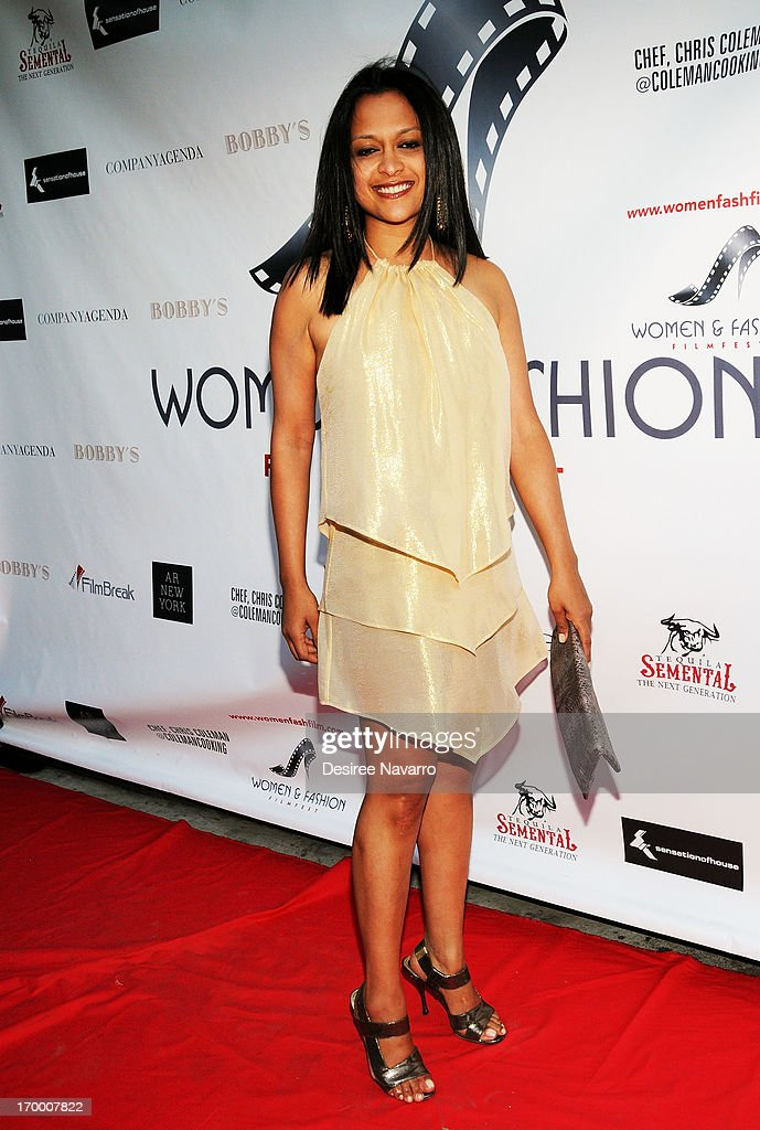 Unvi Tejani attends the 2013 Women & Fashion FilmFest Launch Party at Bobby's Nightclub on June 5, 2013 in New York City.