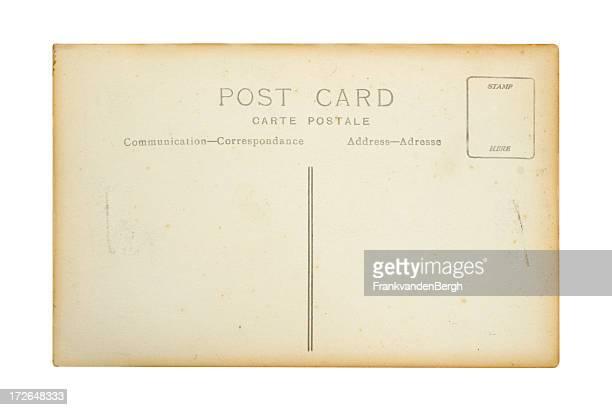 Ancienne carte postale Unwritten
