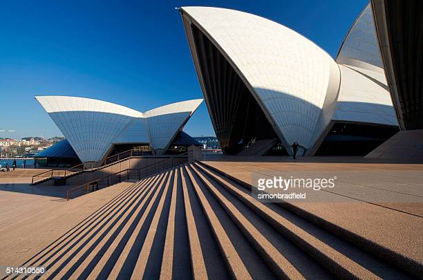 Up The Steps To Sydney Opera House