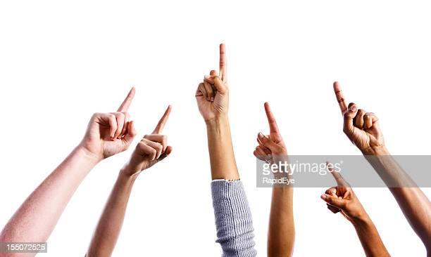 アップが可能です。6 つの指を指す手を上に揚げる動作はすべてミックス