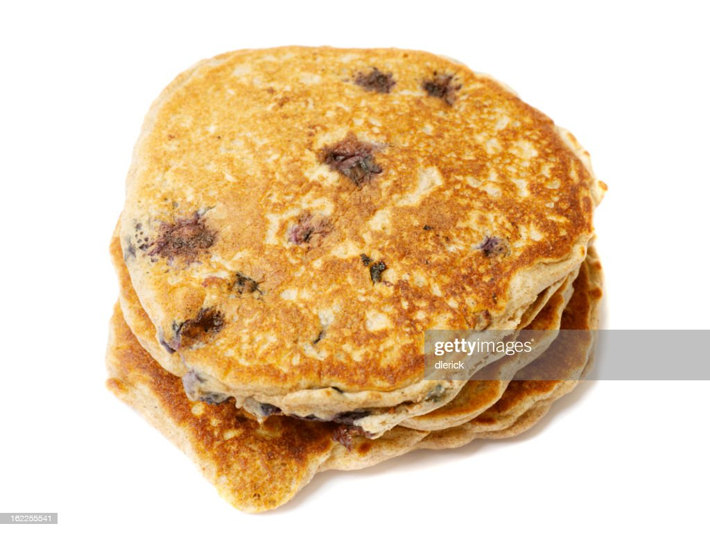 Blueberry Pancakes : Stock Photo