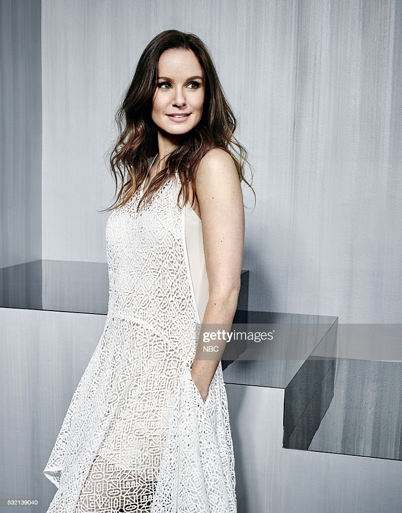 Upfront Party at MoMA in New York City on Monday May 16 2016' Pictured USA's 'Colony' star Sarah Callies