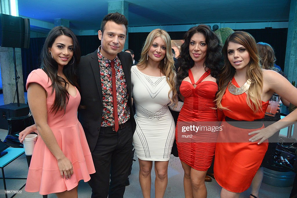 Emeraude Toubia, Guad Venegas, <a gi-track='captionPersonalityLinkClicked' href=/galleries/search?phrase=Vicky+Terrazas&family=editorial&specificpeople=4264665 ng-click='$event.stopPropagation()'>Vicky Terrazas</a>, <a gi-track='captionPersonalityLinkClicked' href=/galleries/search?phrase=Marisol+Terrazas&family=editorial&specificpeople=4264664 ng-click='$event.stopPropagation()'>Marisol Terrazas</a>, and Yarel Ramos. --